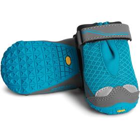 Ruffwear Grip Trex Dog Boots Set of 2 Pairs, blue spring
